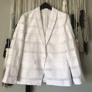 Armani Exchange - White spring / summer blazer